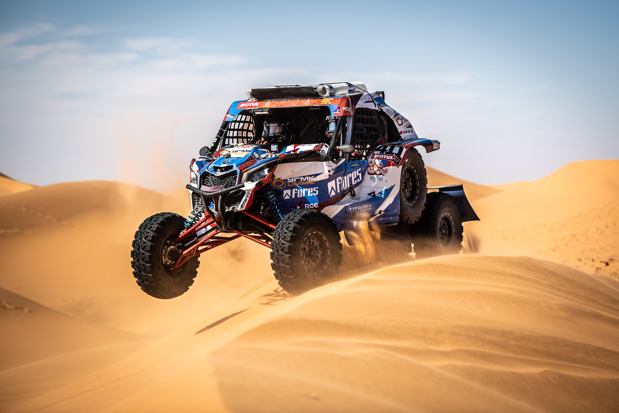 Самый длинный этап Dakar 2020 позади – Карякин в Топ-3, Шмотьев  - в Топ-10.