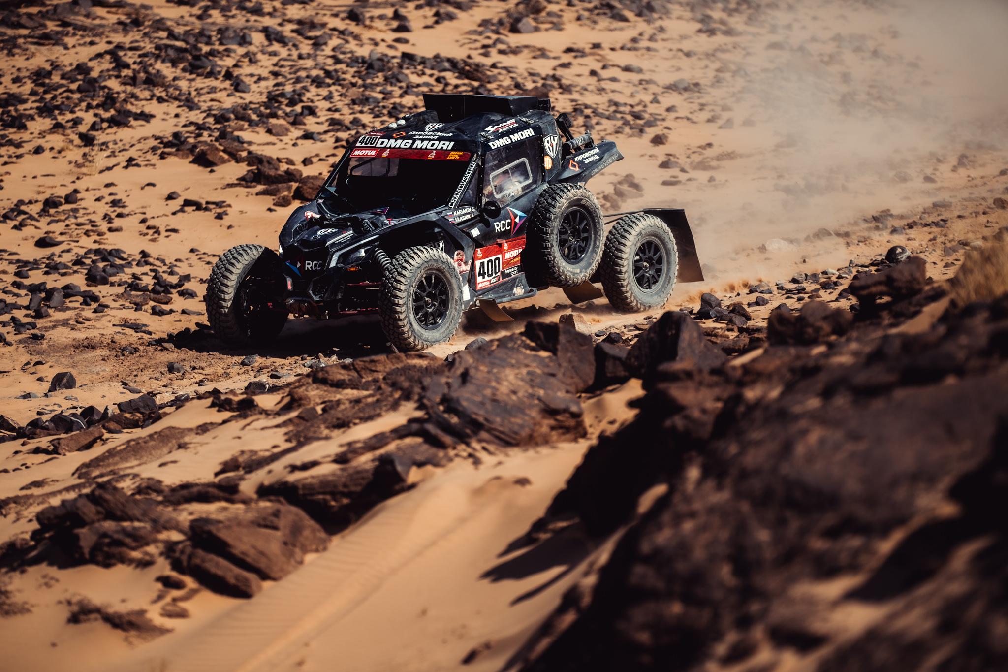 Dakar по кругу: Вади-аль-Давасир – Вади-аль-Давасир