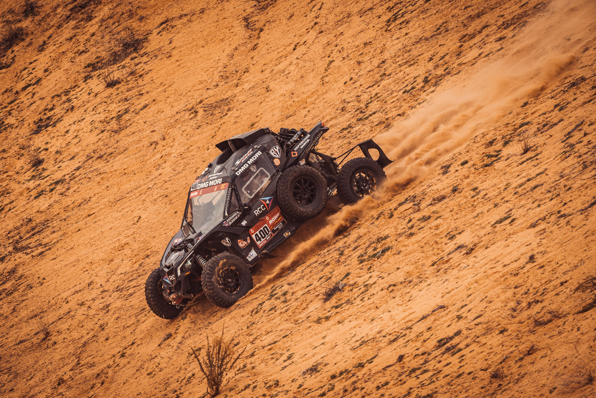 Dakar 2021: промежуточные итоги для команды Сергея Карякина