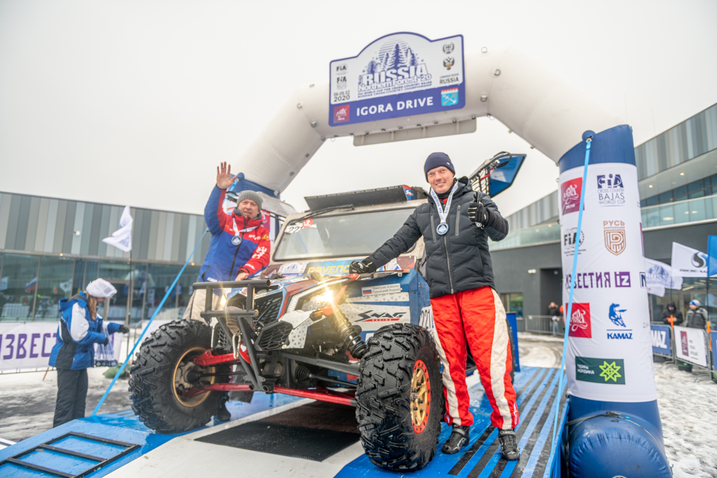 Алексей Шмотьев и Андрей Рудницкий - серебряные призёры этапа Кубка мира по бахам