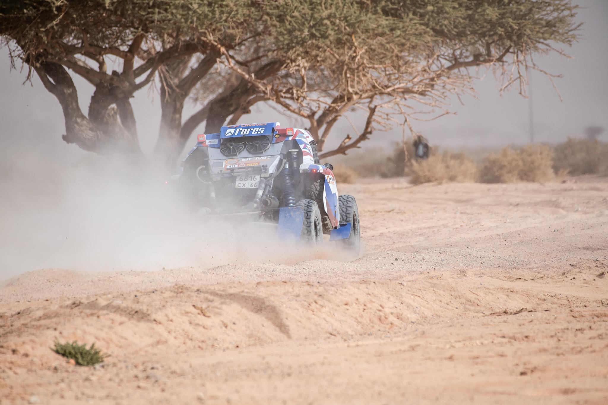 Добро пожаловать в «каменный ад» – итоги четвёртого этапа Dakar 2020 для Snag Racing Team