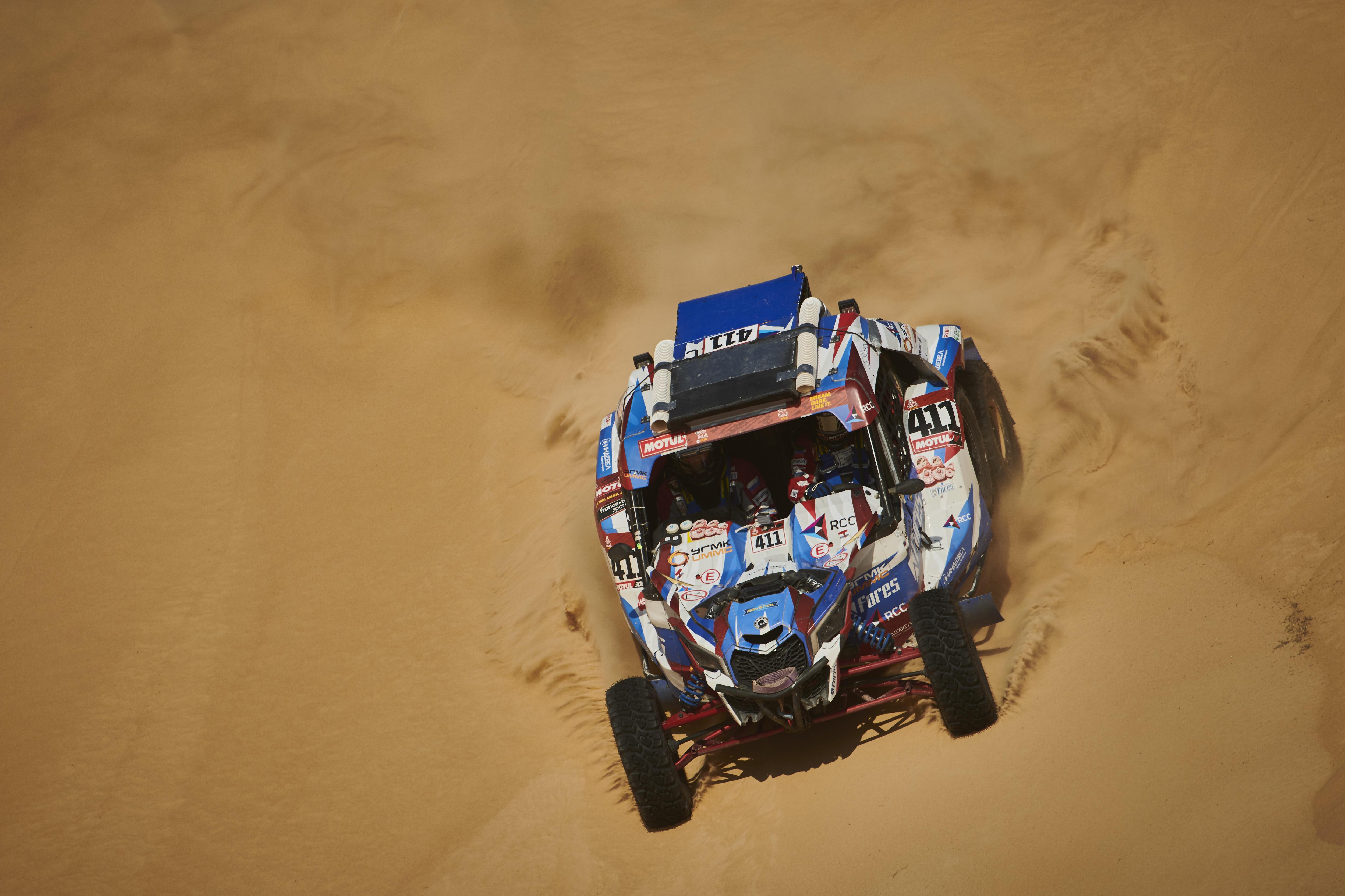 Сергей Карякин поднялся на второе место, Алекей Шмотьев не успел разогнаться – итоги десятого этапа Dakar 2020 для Snag Racing Team