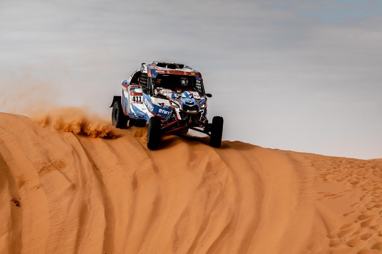 Экипаж Карякина в Топ-3, Алексей Шмотьев на 11-ой позиции – итоги середины маршрута Dakar 2020 для Snag Racing Team